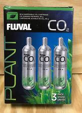 Fluval Pressurized 95g CO2 Disposable Replacement Cartridges Aquarium