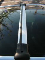 Alu Cross Bar Rail Set To Fit Roof Side Bars To Fit Vauxhall Vivaro (2014+)