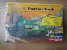 Monogram PM37-198  Patton Tank M48A2-50Ton  possibly 1/32 scale.
