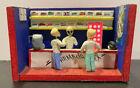 Amazing Day of the Dead Folk Art Diorama. Pharmacy scene