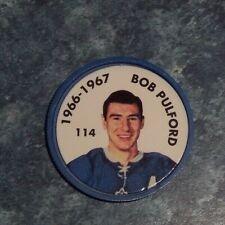 Bob Pulford Parkhurst Coin 1966-67 issued 1995-96 # 114 group 2