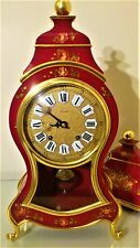 French Boulle Style Bracket / Mantel Clock with Bracket - the 'ZENITH' Swiss