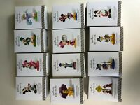 2014 Hallmark A Year of Disney Magic Complete Set of 12 Ornaments