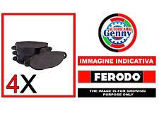 FDB4331 PASTIGLIE FRENO ALFA ROMEO GIULIETTA 1.4 TURBO (120 HP). 1.6 JTDM
