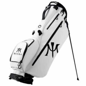 Miura Lite Stand Golf Bag - WHITE