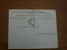 Lettre ANGOLA Portugais pour USA 1919
