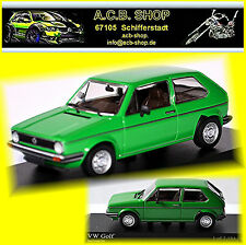 VW Volkswagen Golf I Facelift 1980 Rabbit Type 17 -1980-83 vert 1:43