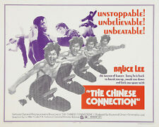 The Chinese Connection - Jing wu men (1972) Bruce Lee cult movie poster print 2