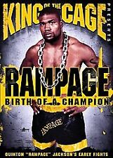 King of the Cage - Rampage: Birth of a Champion (DVD) - **DISC ONLY**