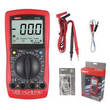 Automotive Multimeter UNI-T UT107 LCD DMM ACV/DCV Tester Tach Dwell Temp RPM Tes