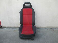 Beifahrersitz klappbar VW Lupo Sitz Ausstattung grau / rot