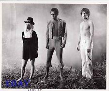 Lou Rawls barechested, Roddy McDowall VINTAGE Photo Angel Angel Down We Go