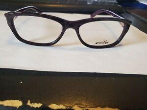 NEW AUTHENTIC OAKLEY PACELINE OX1067-0452 Blackberry Magic Women Eyeglasses 52mm