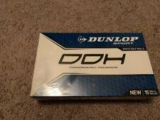 Dunlop Sport Ddh Titanium Distance 2 - Piece Durable Cover Golf Balls 15 pk New