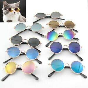 Cat Sunglasses Reflection Eye Wear Glasses For Dog Cat Photos Props Accessories