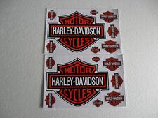 2 Bogen Aufkleber Motorcycles Harley-Davidson Racing Motorradsport Biker Race GT