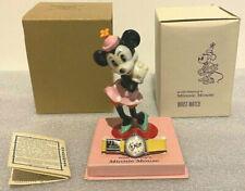 Minnie Mouse Watch 1950's * Brand New * Disney / Box, Warranty, Price Tag