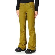 Burton Vida Da Donna Snowboard Sci Pantaloni Pantaloni Skinny Sottile Donna Salopette NUOVO