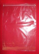 "9"" x 12"" Resealable Zipper Bag Clear Plastic 2 Mil zip lock closure - 100 pack"