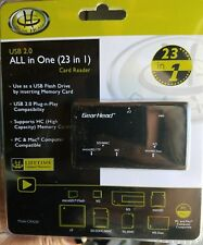 Gear Head CR4200 USB 2.0 All in One (23 in 1) External Card Reader