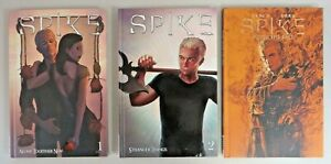 Spike Volume 1-2 Hardcover & After the Fall HC Buffy Angel IDW Publishing