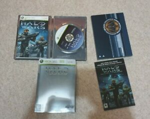 Halo Wars Limited Edition - Xbox 360 - Includes UNSC Patch and All Extras
