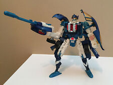 SIDEBURN 2001 Transformers RID Complete Action Figure Toy Excellent Condition