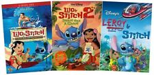 Disney Lilo and & Stitch Trilogy DVD Set All 1 2 3 Leroy Has A Glitch Collection