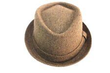 Cappello uomo 70% poliestere 30% lana TRILBY tg.57  LAURA BIAGIOTTI 19087 marron