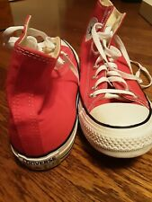 New Converse Chuck Taylor All Star Size 12 Mens Red Hi Top Trainers 147127c