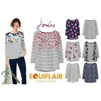 Joules Harbour Printed 3/4 Sleeve Jersey Top - SS19