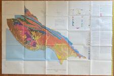 Vintage Map Of Santa Cruz County, California (1989)