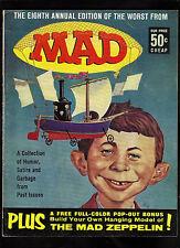 Worst From Mad #8 Fine (Includes Zeppelin Bonus Insert) 1965 Ec