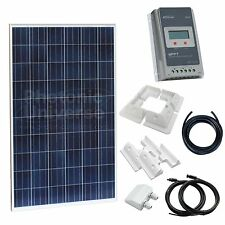 250W 12V/24V solar panel charging kit for motorhome,caravan,camper,boat,off-grid