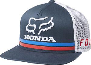 Fox Racing Honda  Snapback Hat Men's Adjustable Cap MX MTB Motocross ATV