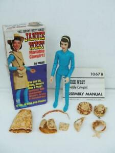 1960's MARX JOHNNY WEST SERIES JANICE WEST COWGIRL COWBOY WESTERN ACTION FIGURE