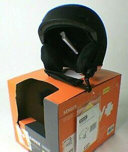 Spy Sender Black Snow Sports Helmet w/ MIPS Brain Protect Adult Size:SMALL