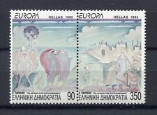 s2455) GREECE 1993 MNH** Nuovi** Europa, modern art 2v