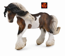 Tinker Stallion Piebald Horse Toy Model Figure by CollectA 88794 Brand New