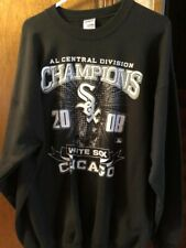 CHICAGO WHITE SOX CENTRAL DIVISION CHAMPIONS 2008 SIZE XL SWEAT SHIRT