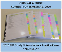 CPA Strategic Management Accounting HD Study Notes & Index 2020