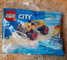 "Polybag Lego City ""30369 - Strandbuggy mit Surfer"" OVP"