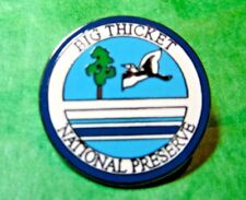 BIG THICKET NATIONAL PRESERVE LAPEL HAT PIN TEXAS SOUVENIR (349)