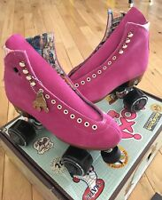 NEW Moxi Lolly Roller Skates Fuchsia Size 8 (Women's 9-9.5) Discontinued Color