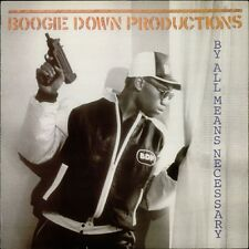 BOOGIE DOWN PRODUCTIONS By All Means Necessary 1988 vinyl LP EXCELLENT CONDITION