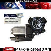 Genuine Left Window Motor 2010-2012 for Hyundai Santa Fe 2.4L 3.5L, 82450-2B010