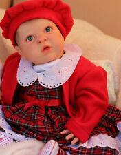 LIFELIKE HEAVY TODDLER DOLL REBORN BABY GIRL, E FAGAN NOW BONNIE BY MARIE GHSP