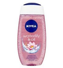 1 Pack Nivea Bath Care Shower Water Lily Oil, 250ml free shipping
