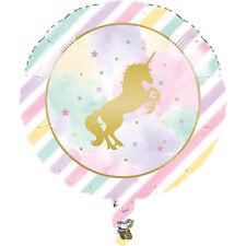 Licorne scintillant feuille Ballon fête décoration Licorne fête BALLON HÉLIUM