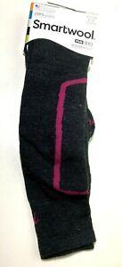 Smartwool PhD Ski Medium Charcoal LG Womens Shoe 10-12.5 Sock Mens 9-11.5 Merino